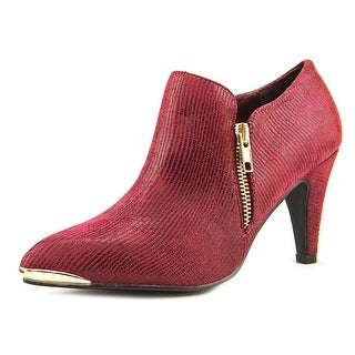 Bellini Grace W Pointed Toe Canvas Bootie (Option: 13)