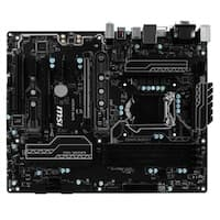 MSI Motherboard H270 PC MATE Core i3/i5/i7 H270 LGA1151 DDR4 SATA PCI Express USB ATX Retail