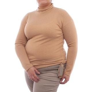 Love Moschino Long Sleeve Turtleneck Sweater Women Regular Sweater