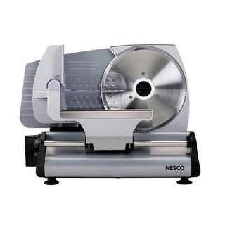 Nesco FS-200 Stainless Steel Food Slicer, 180-watt