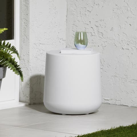South Shore Dalya Round Outdoor Side Table