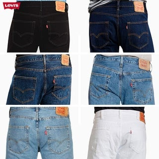 Link to Levis 501 Original Fit Jeans Straight Leg Button Fly 100% Cotton Similar Items in Pants