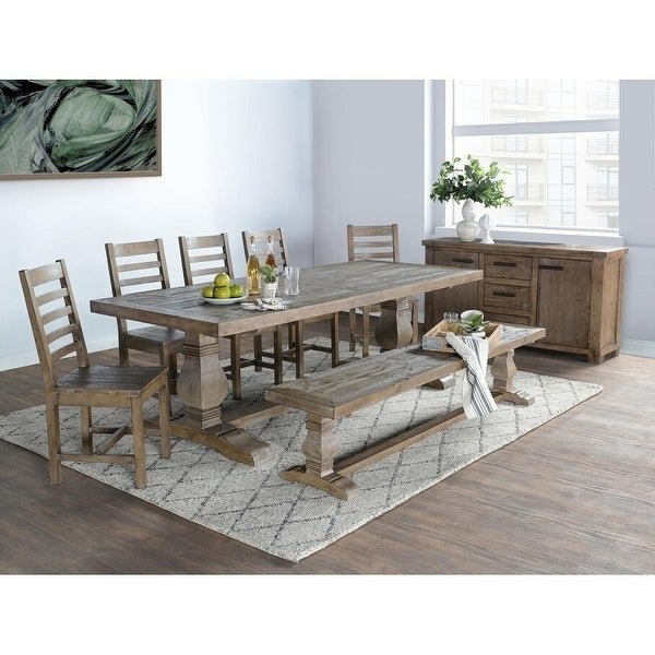 Kasey Reclaimed Wood Dining Table by Kosas Home. Opens flyout.