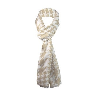 Style & Co. Women's Houndstooth Print Wrap Scarf - os