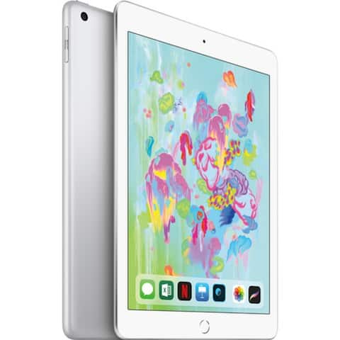 "Apple iPad 9.7"" (Early 2018) 128GB, WiFi + 4G LTE"