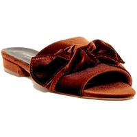 Kenneth Cole New York Womens Candice Open Toe Special Occasion Slide Sandals