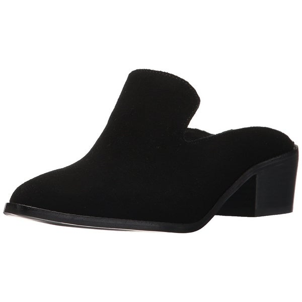 Chinese Laundry Women's Marnie Mule, Black Suede, Size 9.5