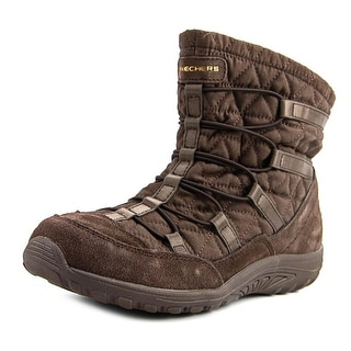brown sketcher boots