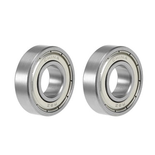 "R8ZZ Deep Groove Ball Bearing 1/2""x1-1/8""x5/16"" Shielded GCr15 Bearings 2pcs - R8ZZ (1/2""x1-1/8""x5/16"")"