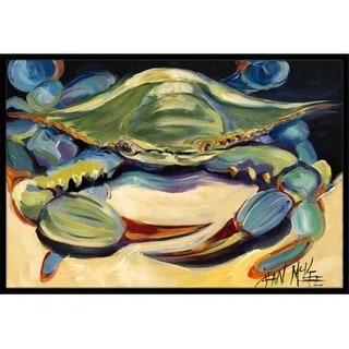Carolines Treasures JMK1093MAT Blue Crab Indoor & Outdoor Mat 18 x 27 in.