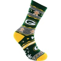 Green Bay Packers Ugly Christmas Socks