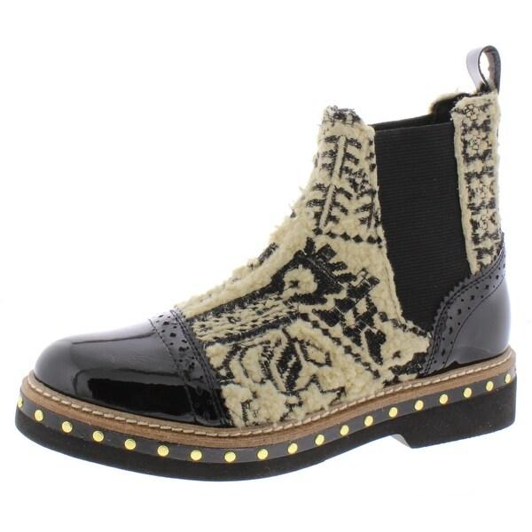 Lara + Lillian Womens Elise Patent Leather Dress Shoes