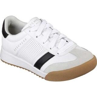 Skechers Boys' Zinger Sneaker White/Black