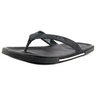 Ugg Australia M BENNISON II Open Toe Canvas Flip Flop Sandal