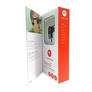 "Motorola Boom 2 Wireless Bluetooth Headset MH003 - ""Dual-Mic Noise Cancellation"""