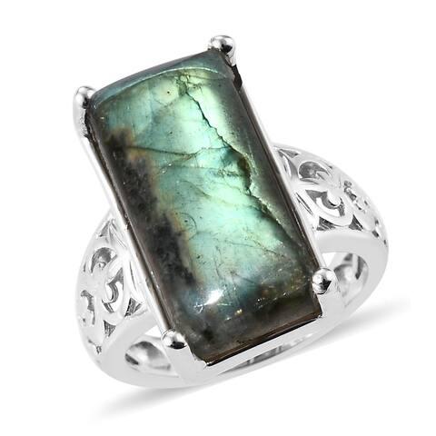 Shop LC Labradorite Ring Ct 17.5