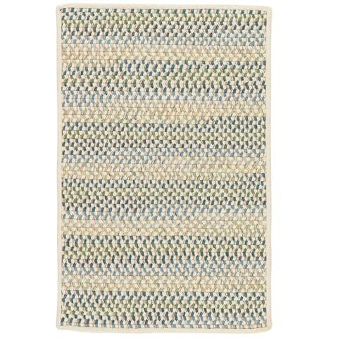 Chapman 100% Wool Multi-Colored Braided Area Rug