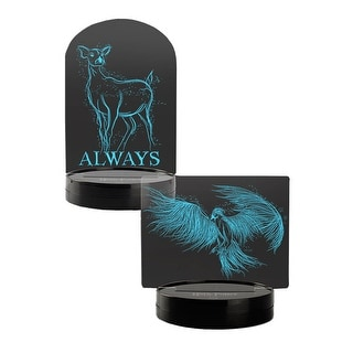 Harry Potter Acrylic LED Desk Light Set (Dumbledore & Snape Patronus)