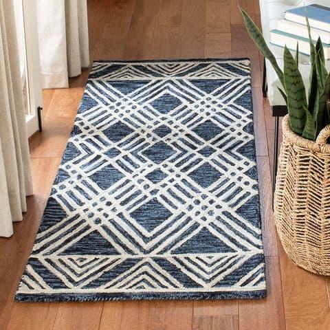 Safavieh Handmade Micro-Loop Rengina Moroccan Wool Rug