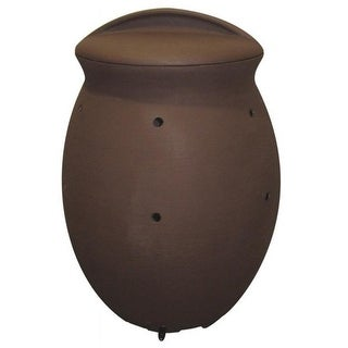 Algreen Products 82111 200 Liter Composter - Dark Brown