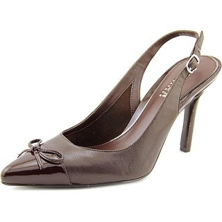 Lauren Ralph Lauren Sienna Pointed Toe Patent Leather Slingback Heel