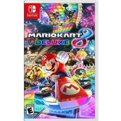 Nintendo Hacpaabpa Mario Kart 8 Deluxe Multipayer Racing Game For Switch