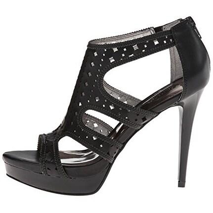 Carlos by Carlos Santana Womens Marsalis Open Toe Casual Platform Sandals