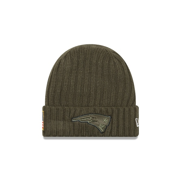 4d1b822f0c9 Shop New England Patriots 2017 Salute to Service Knit Hat - Free Shipping On  Orders Over  45 - Overstock - 18682322