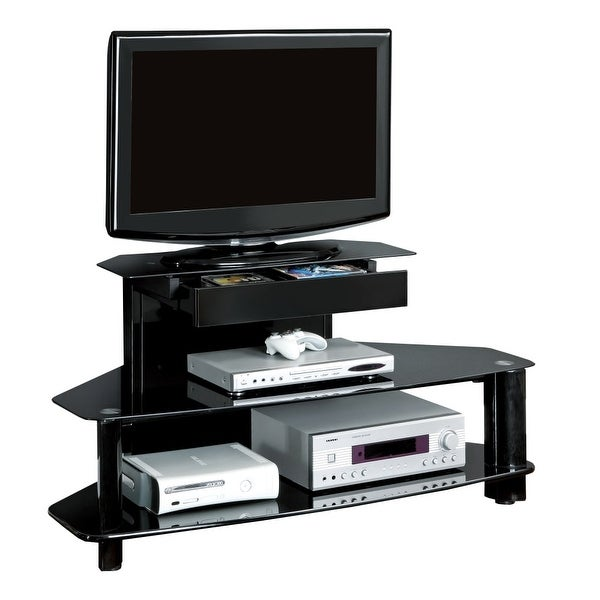 Shop Monarch Specialties I 2000 48 Inch X 24 Inch Metal Tv Stand