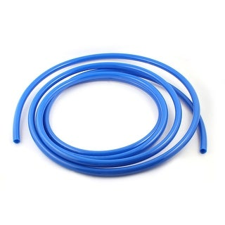 Unique Bargains Blue 5m 16Ft 16mm OD 12mm ID 4mm Thickness Pneumatic PU Air Hose