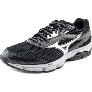 Mizuno Wave Legend 3  Men  Round Toe Synthetic Black Running Shoe