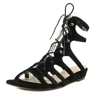 Nine West Zavila   Open Toe Suede  Gladiator Sandal