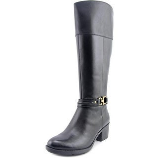 Bandolino Ulla Round Toe Leather Knee High Boot