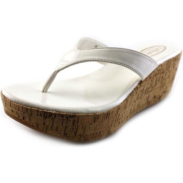 Callisto Womens Beachie Open Toe Casual Platform Sandals