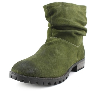 Chinese Laundry Flip   Round Toe Suede  Ankle Boot