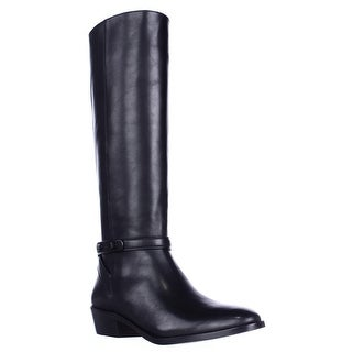 Coach Caroline Tall Dress Riding Boots, Black (2 options available)