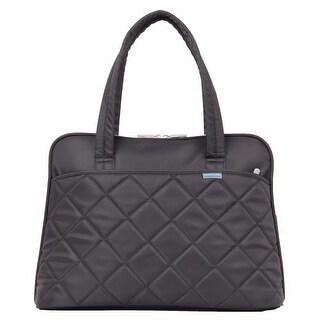 Kingsons Best In Class Ladies in Fashion Series 15.4 Laptop Shoulder Bag-Black