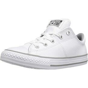 Converse Boys Chuck Taylor Madison Ox Fashion Sneaker Shoe, White/White/White