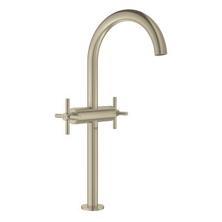 Grohe 21 046 3  Atrio 1.2 GPM Vessel Single Hole XL-Size Bathroom Faucet with Pop-Up Drain Assembly