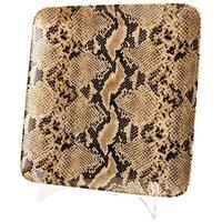 "Cyan Design Large Boa Tray  Boa 13.25"" Wide Ceramic Tray - Snake Skin"