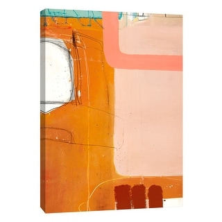 """PTM Images 9-108471  PTM Canvas Collection 10"""" x 8"""" - """"Aspect #4"""" Giclee Abstract Art Print on Canvas"""