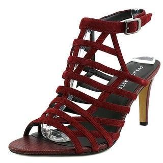 Franco Sarto Spruce Open Toe Suede Sandals