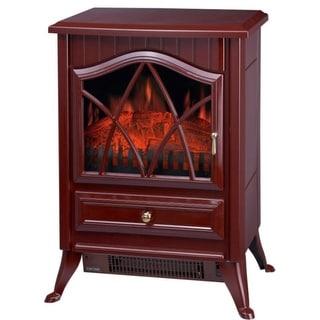 Comfort Glow ES4220 Ashton Electric Stove Heater - Red