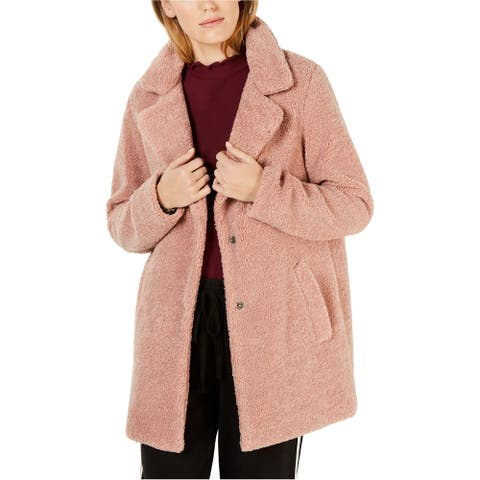 Lucky Brand Womens Sherpa Coat