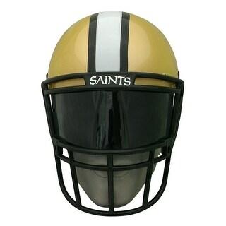 NFL Gear Helmet Style Fan Mask: New Orleans Saints - GOLD