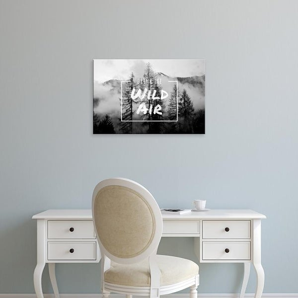 Easy Art Prints 'Drink the Wild Air' Premium Canvas Art