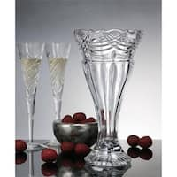 Godinger 12 in. Espirit Crystal Vase