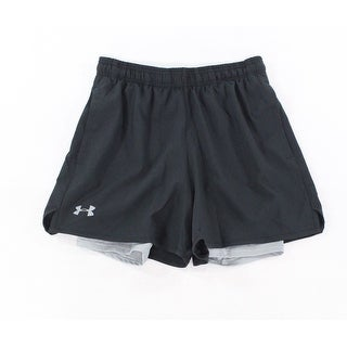 Under Armour NEW Black Mens Size Small S Loose Fit Performance Shorts