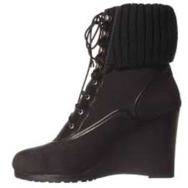 Ellen Tracy Womens Cosy Closed Toe Ankle Fashion Boots - 9