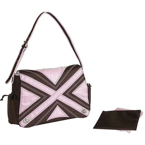 Kalencom Women's Hannah's Messenger Bag Chocolate/Pink - US Women's One Size (Size None)
